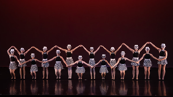 """15 - """"Cows Chorus Line"""" Eugene Youth Ballet"""