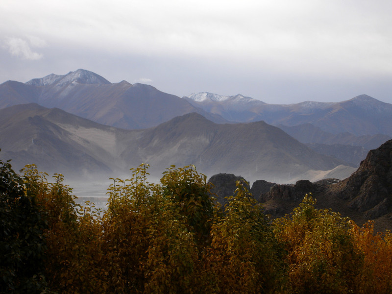 Lhasa valley from Drepung Monastery, Tibet
