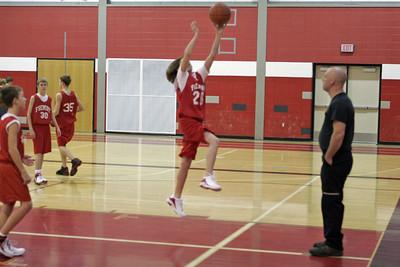 Middle School Boys Basketball 7A - 2006-2007 - 12/7/2006 Ludington