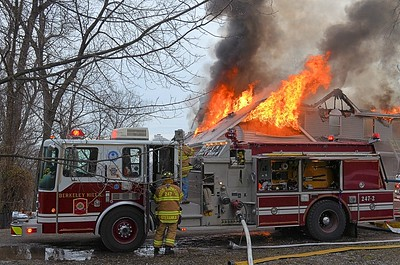 Shaler Township residential structure fire