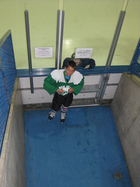 Xander Hockey Try-Outs