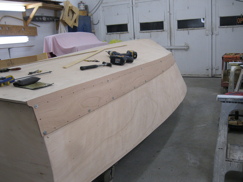 Port rear plank fit.