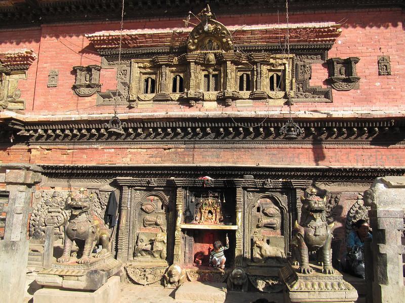 At Bhaktapur