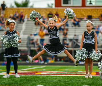 Youth Football: AYFL Cheerleaders 09152018 (by Al Shipman)