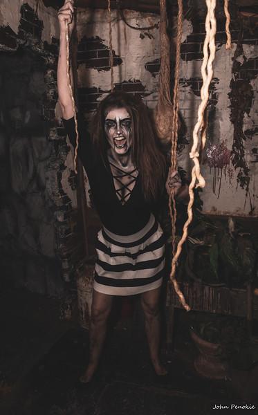 Event: Monsters Model Motars (MMM) 2019 Model: Nikki Castle / Tietz FX: Clerra Oshefsky FX: Alicia O'Donnell MUA: Self Hair: Self   Photographer: John Penokie / EyeOnYouPhotos.com