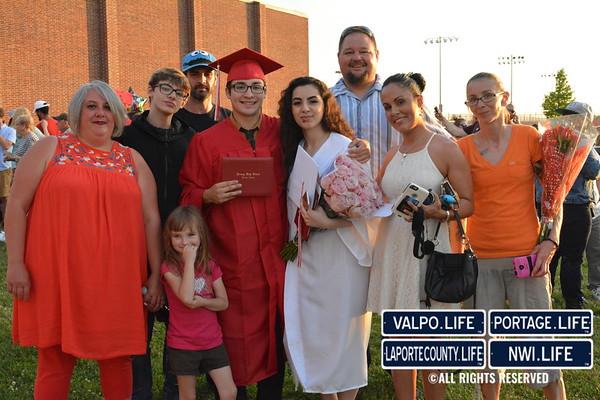 Portage High School Graduation 2017