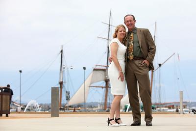 Carole & Mike Wedding @ San Diego Admin Building