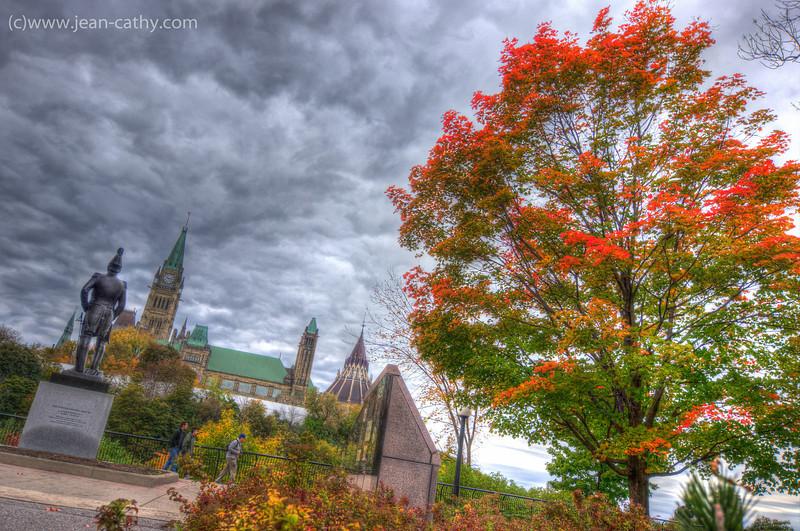 Major's Hill Park, Ottawa Ontario (Canada)