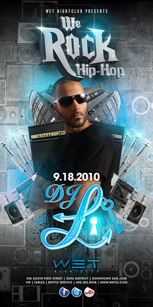 9/18 [We rock the hip hop@WET]