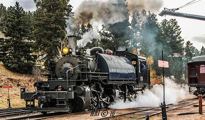 Holiday Express - 1880 Train