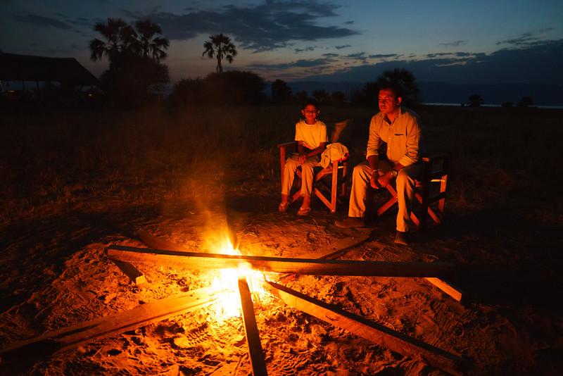 Bush TV, Maramboi Tented Camp, Tanzania
