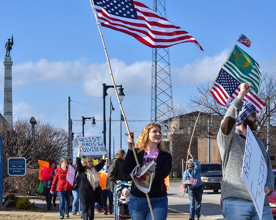 Local Solidarity and Support for Women's March on Washington