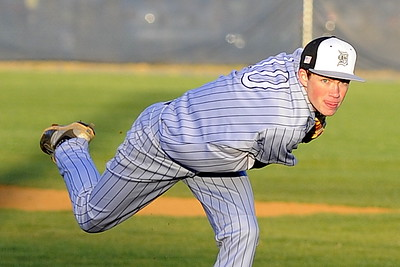 Baseball - Varsity: Dominion v. Loudoun County 4.5.2016 (by Scott Shepherd)