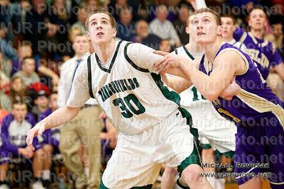 Harborfields Vs Islip, Boys Varsity Basketball 02.24.11
