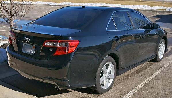 2014 Black Toyota Camry