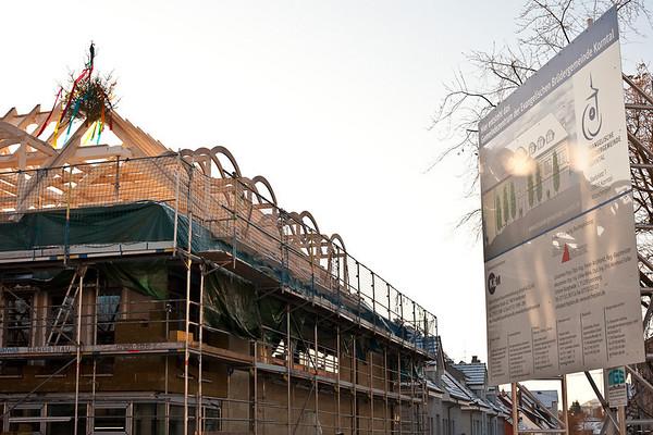2009-12-18_Richtfest Gemeindehaus Korntal