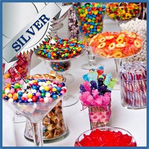 42803 Candy bar Silver