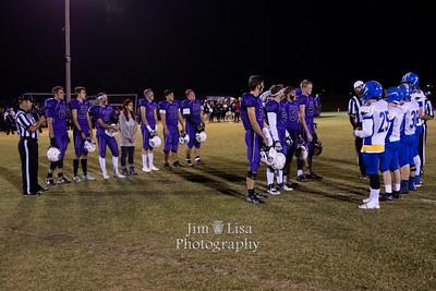 CCS HS Football vs. Dibble, November 4 (Senior Night)