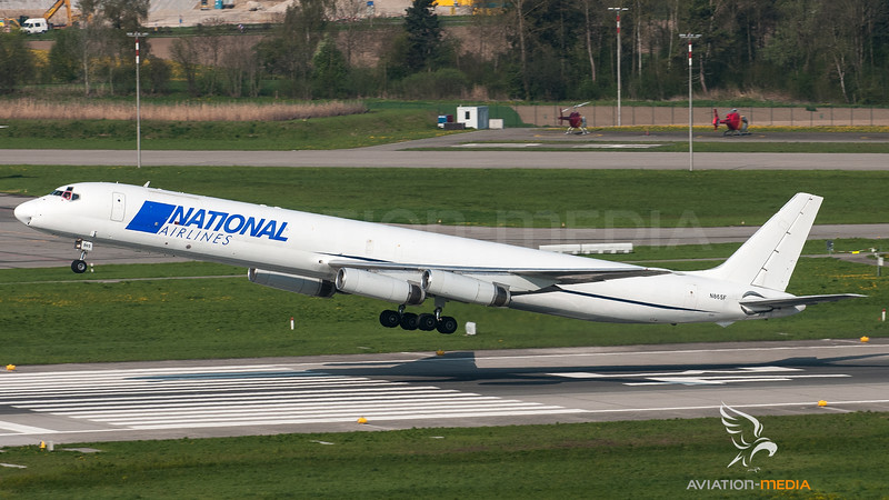 National Airlines DC8 N865F