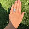 1.75ctw Edwardian Toi et Moi Old European Cut Diamond Ring  62