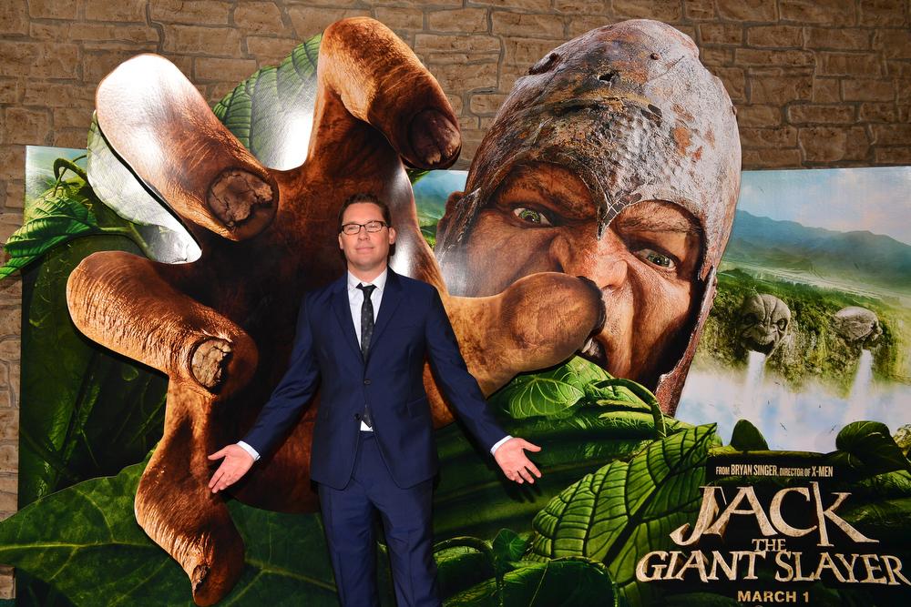 Description of . Director Bryan Singer attends the premiere of New Line Cinema's