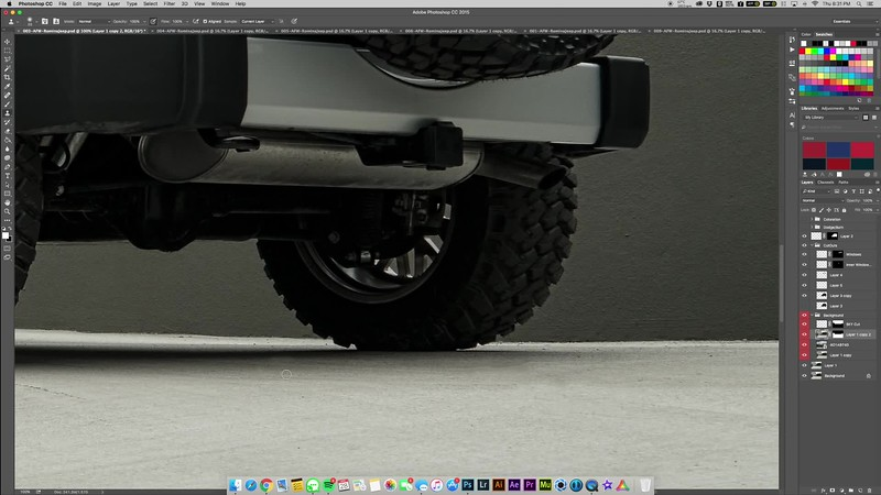 AFW Romina's Jeep | Post Process Time-Lapse