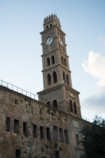 Clocktower of Saint Elias Greek Melkite Cathedral