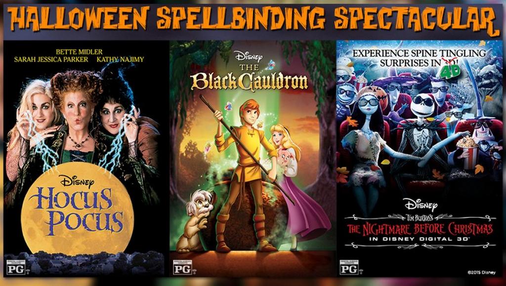 Halloween Spooktacular Soiree at El Capitan celebrates Hocus Pocus, Nightmare, and Black Cauldron