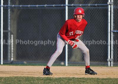Baseball, Boys H.S. JV, St Dominic's vs St Johns, 04-08-08