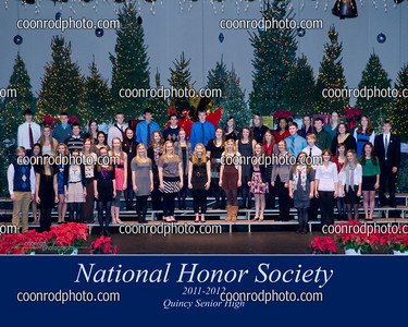 QHS Natl Honor Soc Induction