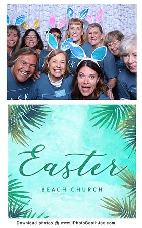 Beach Church Easter Service- Sunday