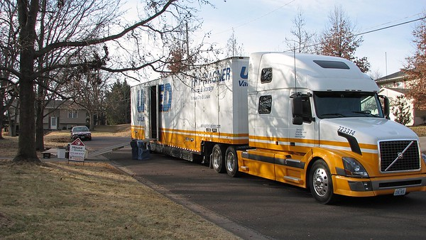 January 23 - 25, 2009:  Leaving Columbia, Missouri .  .  .