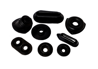 ZETOR CRYSTAL CAB GEAR AND PEDAL RUBBER KIT