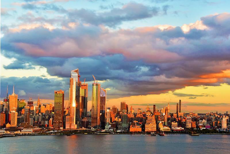 Manhattan Sundown Magnifique
