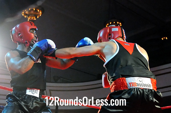 Bout # 13 Edwin Santos(Raul Torres BC-Cleve, OH)-vs-Deloren Gray(Cudell Rec.-Cleve, OH) 152 Pounds