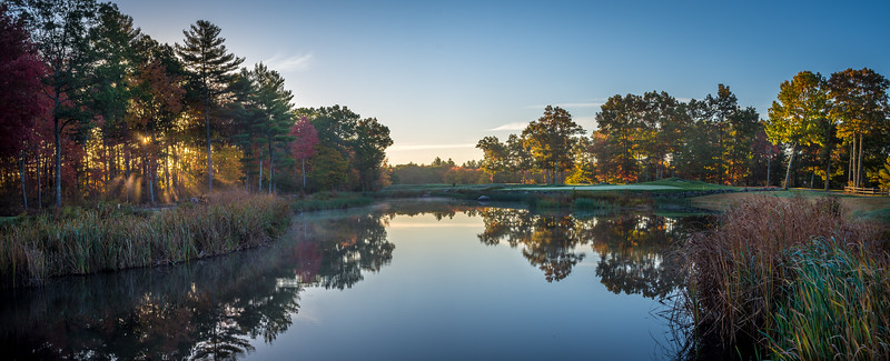 Golf Landscapes and panoramas