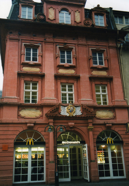 Beautiful McDonald's in Heidelberg