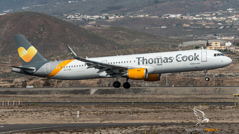Thomas Cook Scandinavia / Airbus A321-211(WL) / OY-TCH