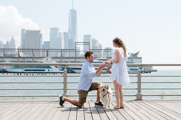 Sean's Pier 45 Surprise Proposal