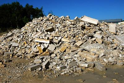 Garson rubble pile