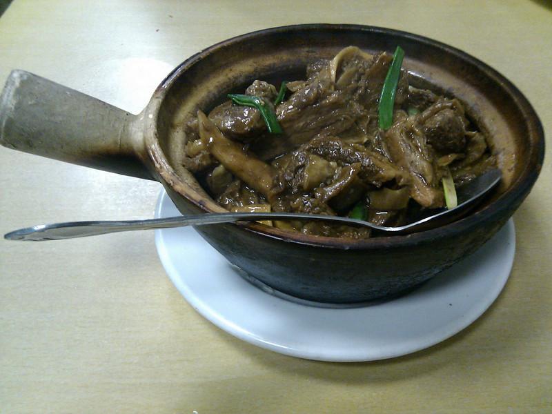 Taishan Cafe - House Special Made Lamb Stew Clay Pot
