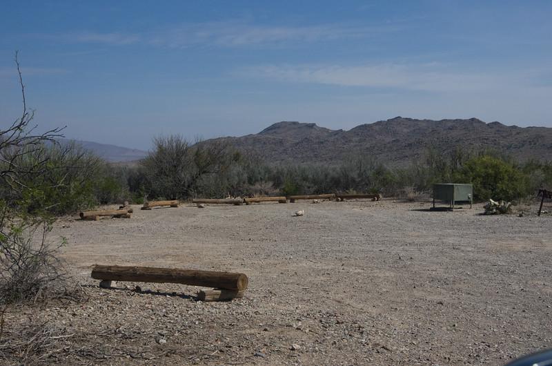 Grapevine Hills Campsite #3