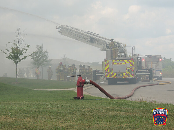 Apartment complex fire on August 10, 2016