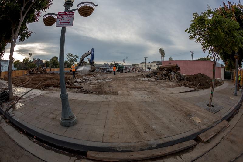 September 19 - Palisades Village under construction.jpg