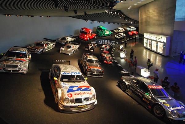 Mercedes Museum 2012