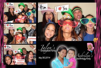 Jalyn Graduation & Aubrilyn's 2nd Bday (Luxury Photo Pod)