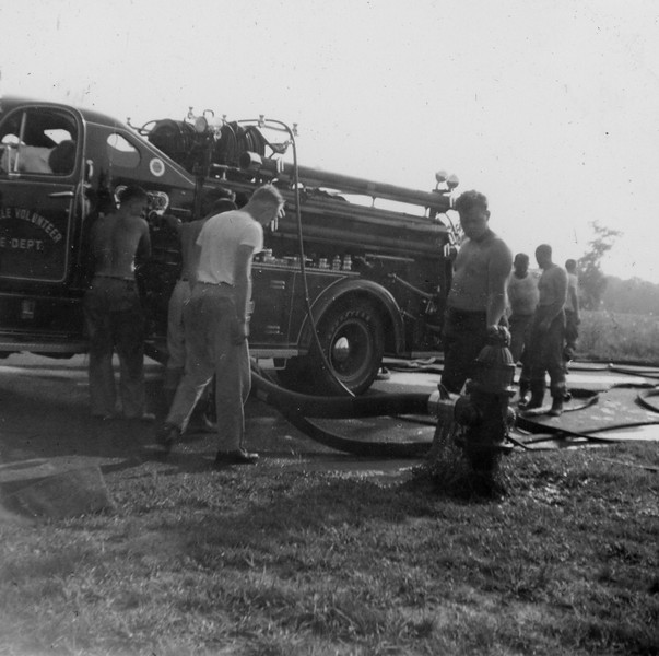 Drill and hose check Carver High School 1960