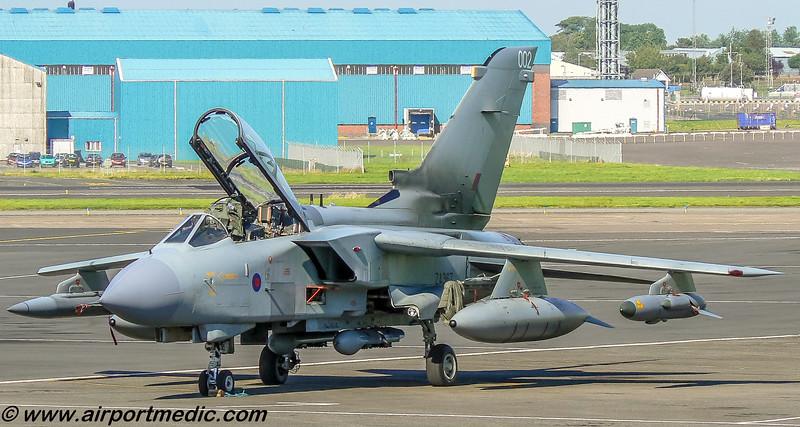 ZA367/002 Tornado GR4 RAF @ Prestwick AIrport (EGPK)