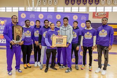 2021 Basketball State Champions Celebration