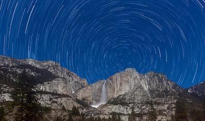 Yosemite - Horsetail Falls & Scenic